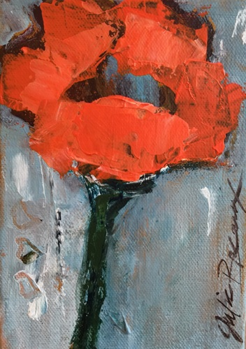 Oeange Poppy by Julie Breaux