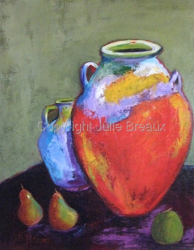 Pottery and Pears II