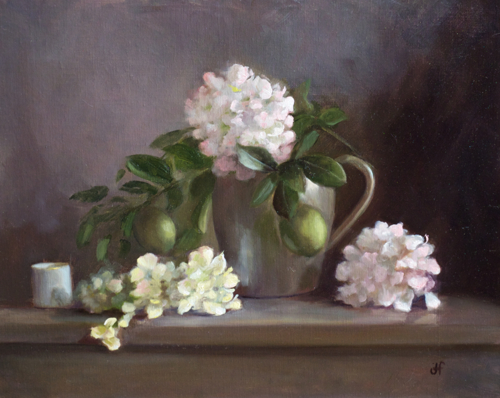 Hydrangeas & Limes