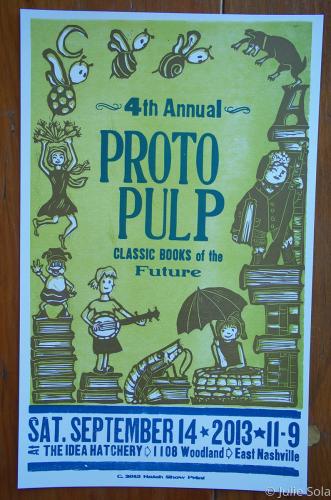 4th Annual Proto Pulp poster