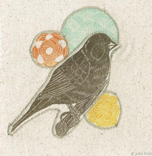 Fabric Parakeet