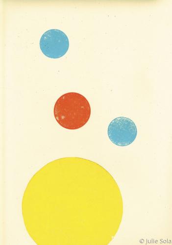 Printed dots