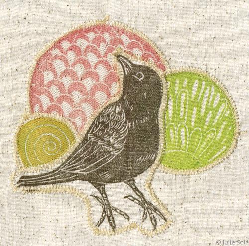 Fabric sparrow