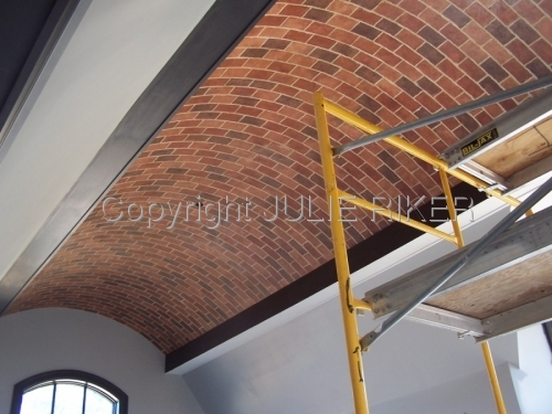 Faux Brick Ceiling