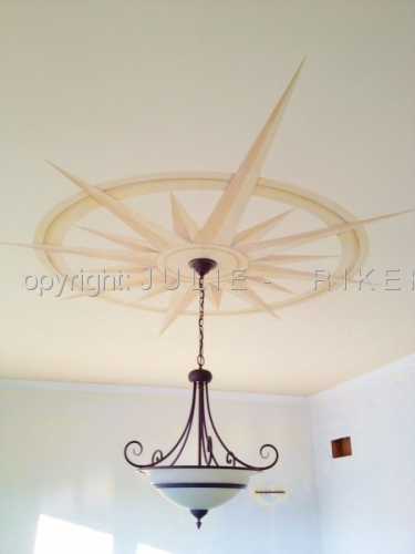 Compass ceiling design