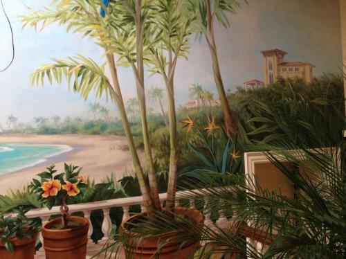 Florida mural, detail