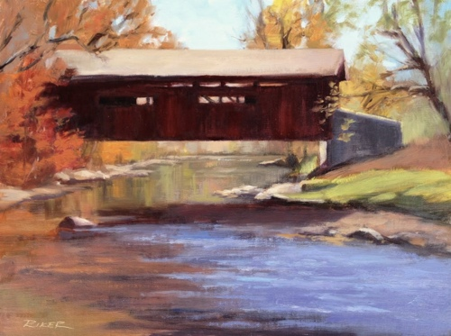 The Covered Bridge At Messiah