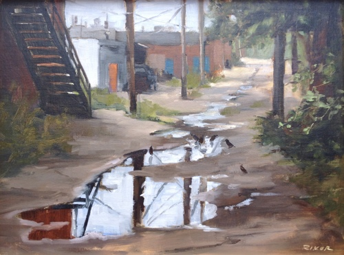 Back Alley Puddles