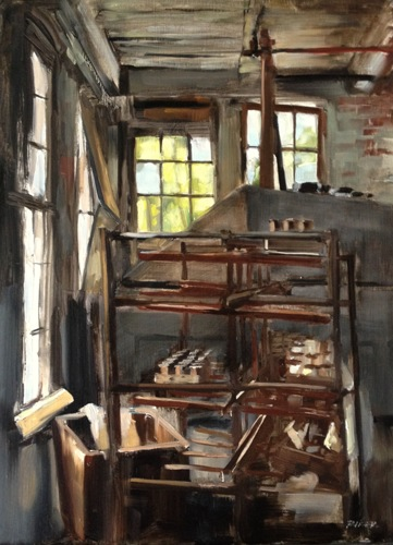 Lonaconing Silk Mill by J U L I E    -   R I K E R