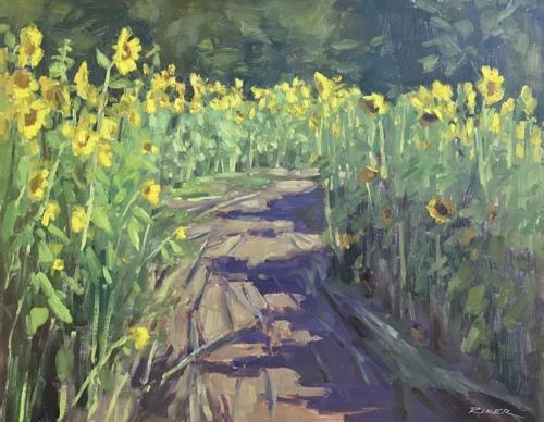Sunflower Pathway