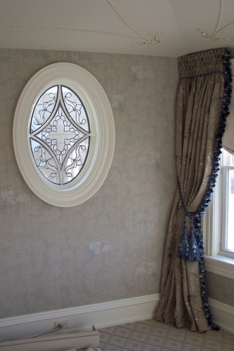 Lace Wall Treatment