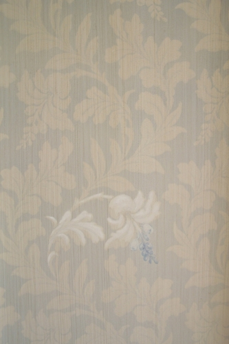 Lace Wall Treatment - detail