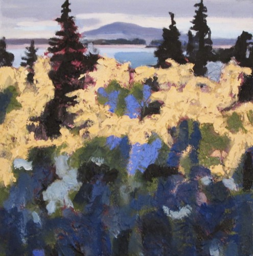 Bernard Mountain Fall by June Kellogg