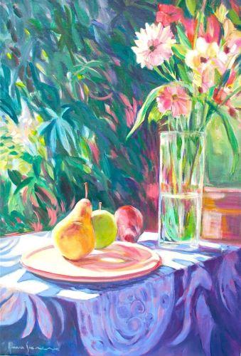 Fruit & Flowers with Sheflerra