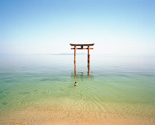 Swimming Shaman, Lake Biwa