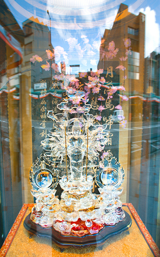 Crystal Buddha, Kyoto Window