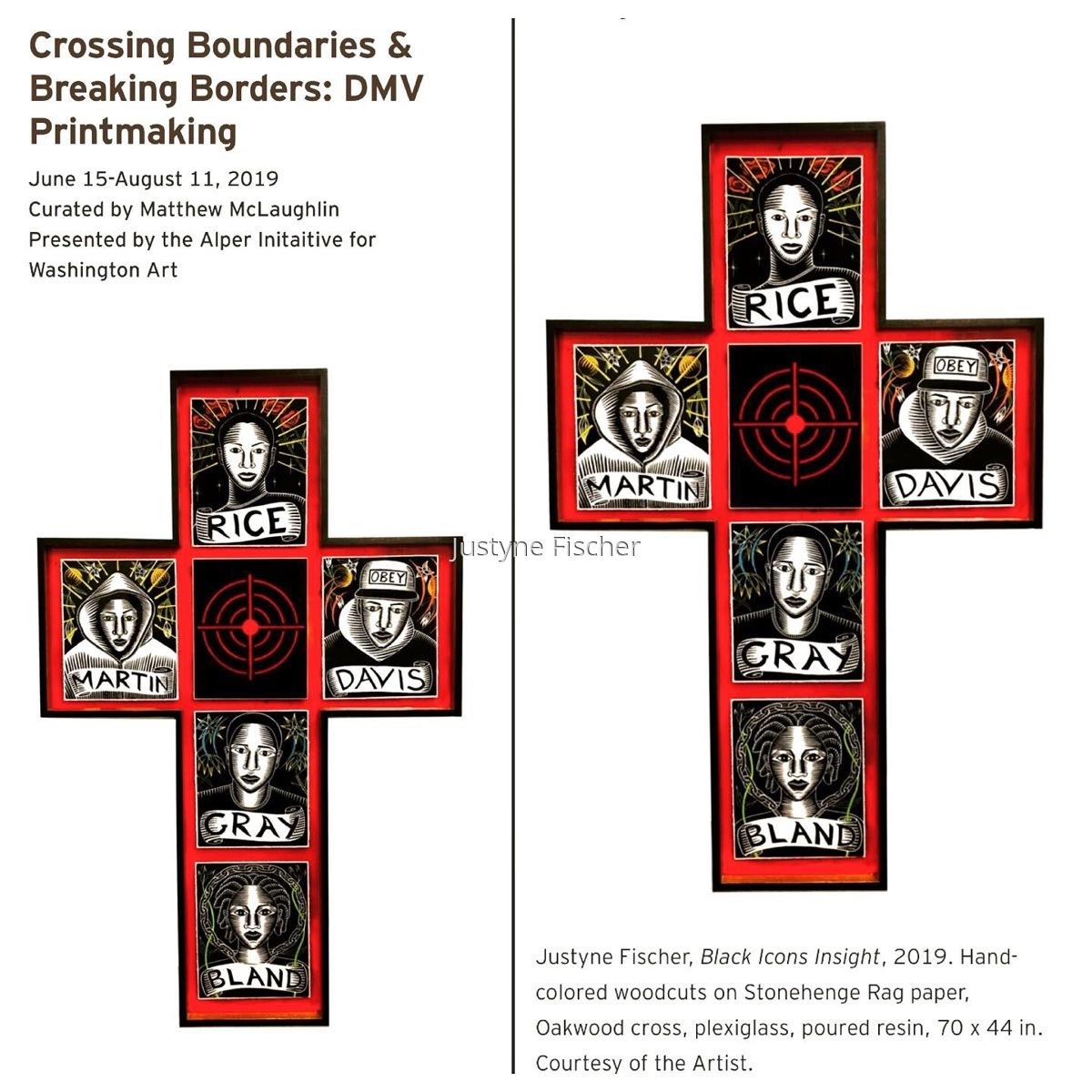 Crossing Boundaries and Breaking Borders: DMV Printmakers (large view)