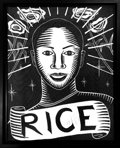 Tamir Rice by Justyne Fischer: Printmaker. Art Educator