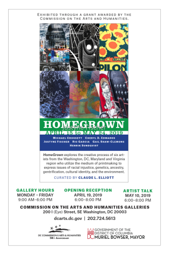 Homegrown curated by Claude Elliot 2019