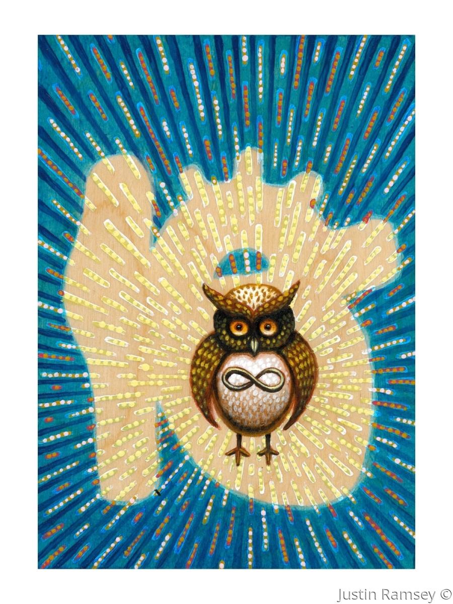 The Dalai Lama's Owl (large view)