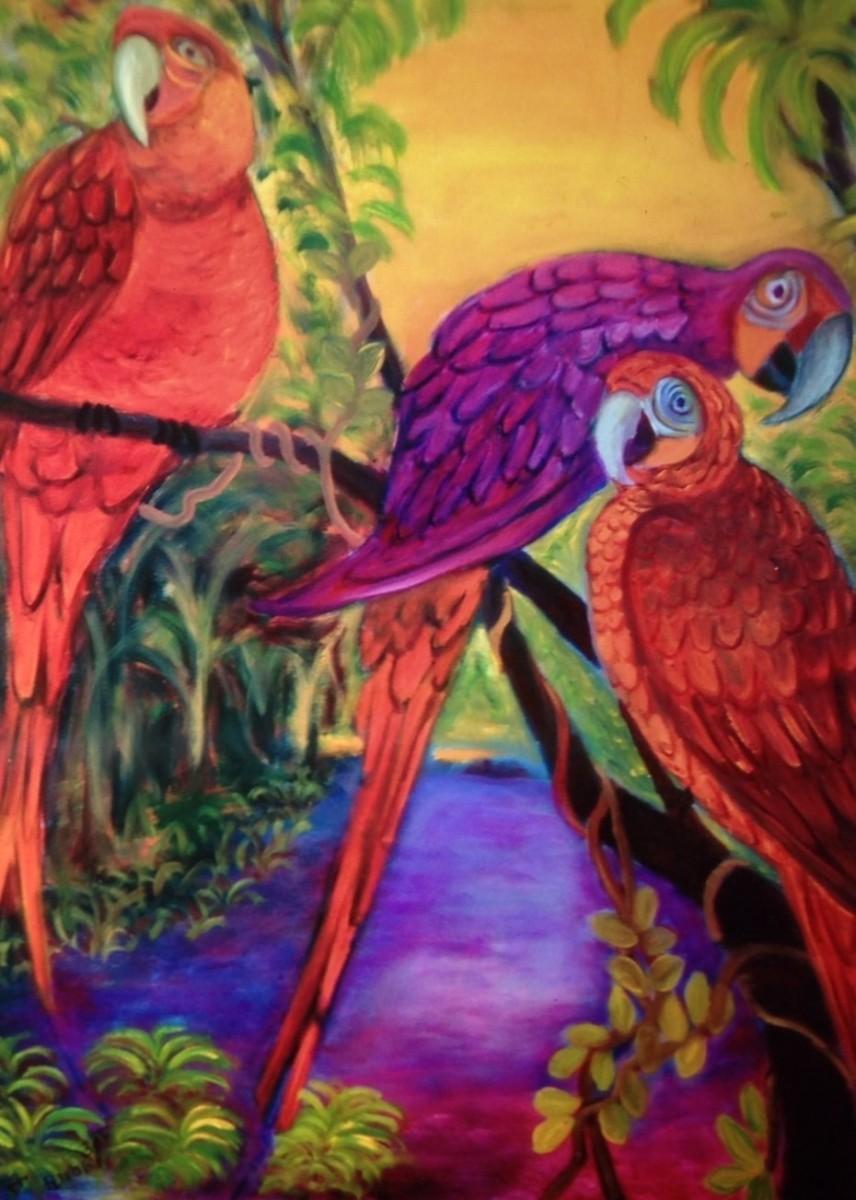 the original parrots (large view)