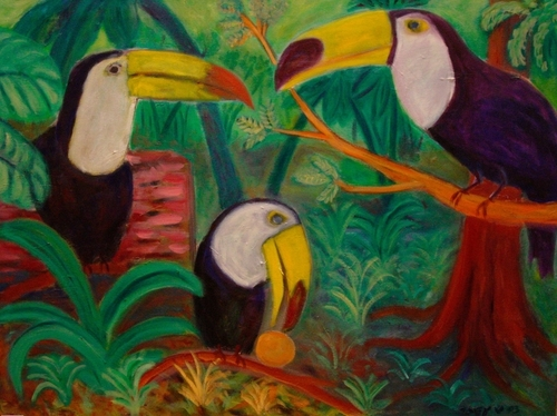 tropical birds (large view)