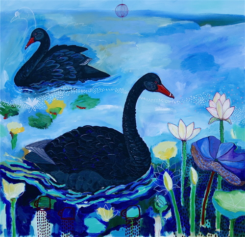 Black Swans: Filling with Grace