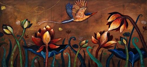 Effervescent Symphony: Kingfisher
