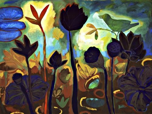 Night Bird Lotus