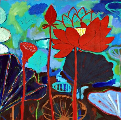 Lotus Garden Study