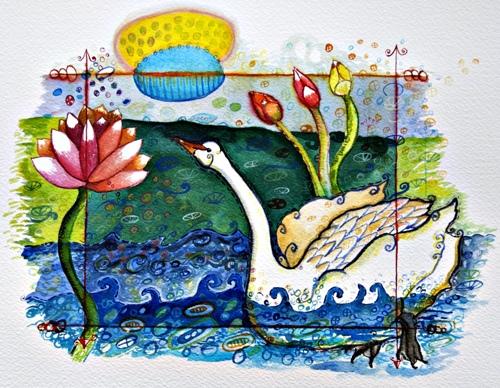 White Swan & Lotus
