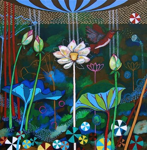 Brown Lotus: grace opening