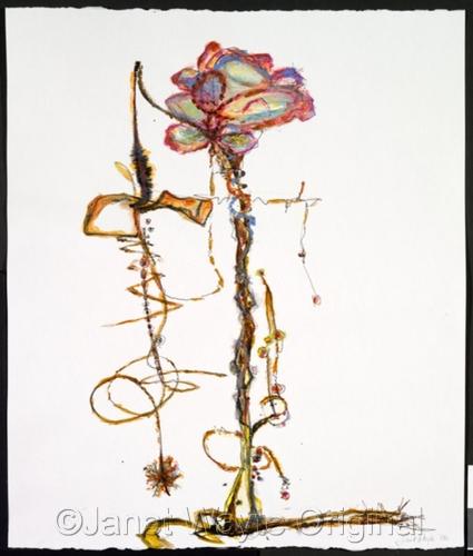 Plantoid VII by Janet Wayte