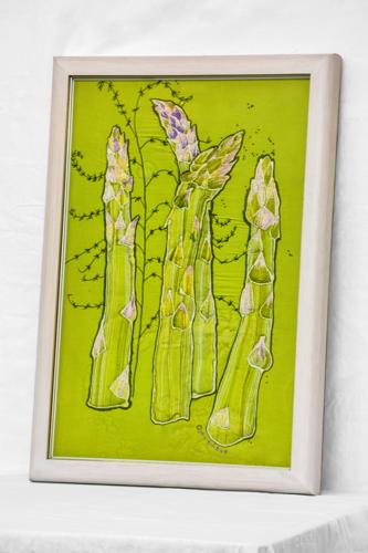 Asparagus batik