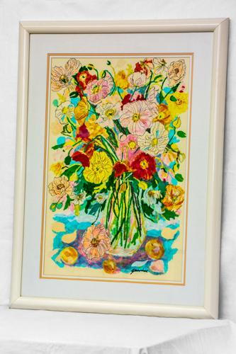 Large floral bouquet