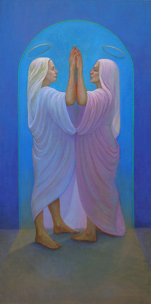 """The Visitation...Mary and Elizabeth"" (large view)"