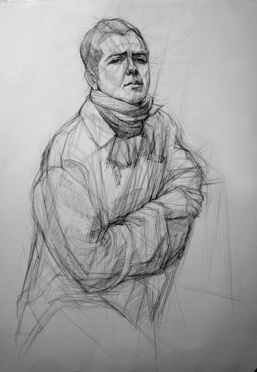 """Study for """"The Chef"""" (large view)"""