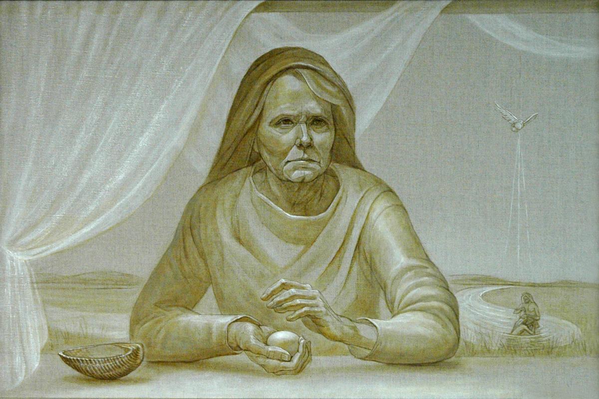 """The Prophecy...Elizabeth"" (large view)"