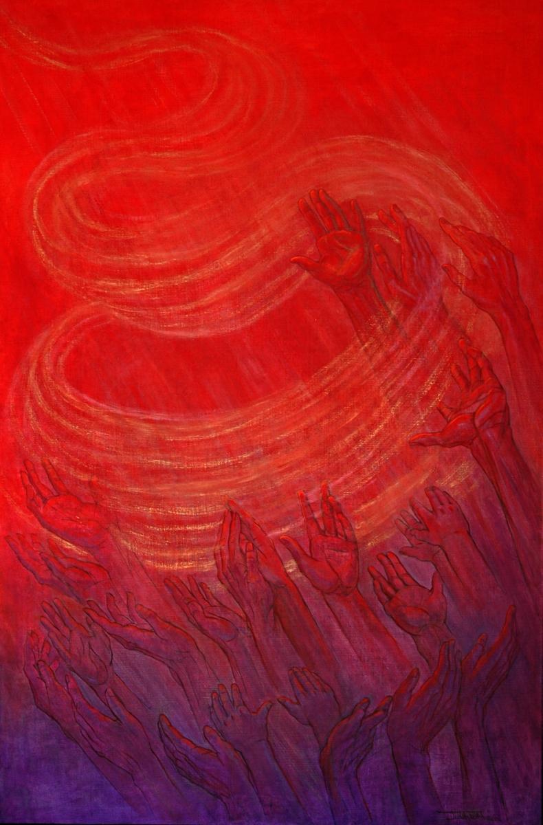 """Pentecost"" (large view)"