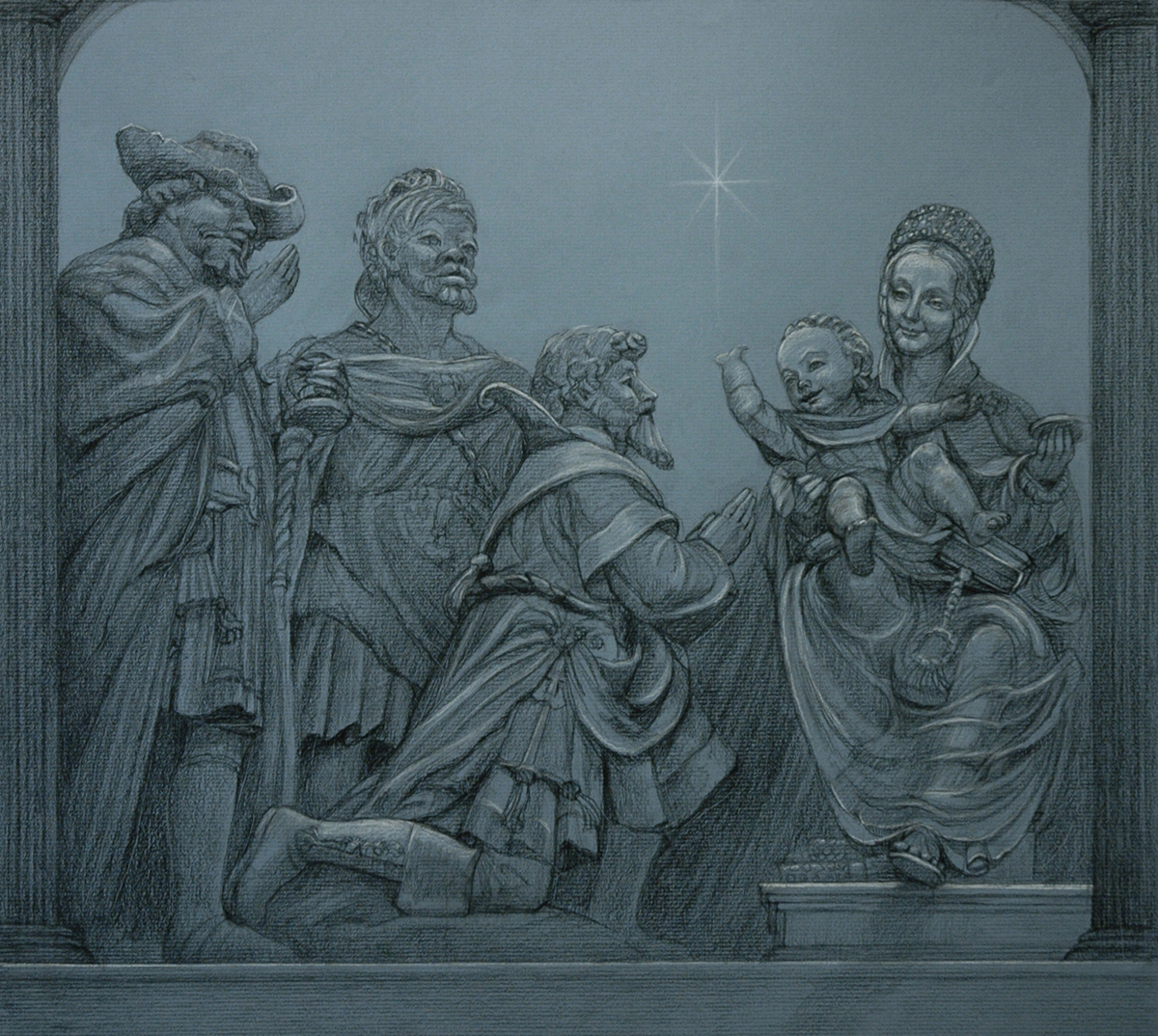"""Epiphany...The Gift of the Magi"" (large view)"