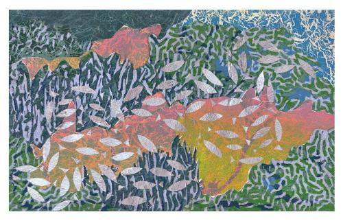 Oceanic Fantasia VI (2017) by  J Hubbard Prints