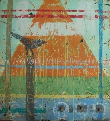 Rustic Garden 4, series, 3 2011