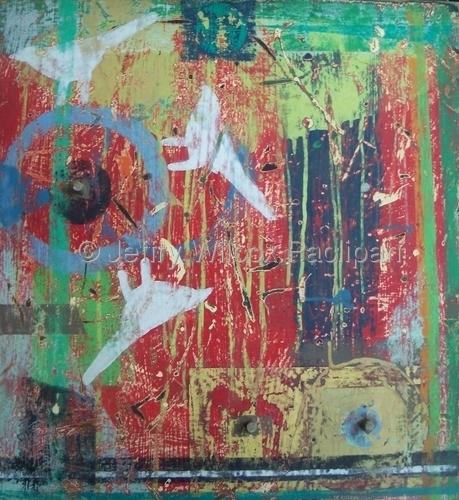 Rustic Garden 5, series, 3 2011