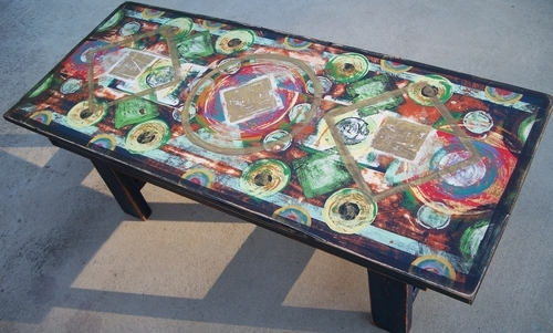Coffe Table bench 2010 sold