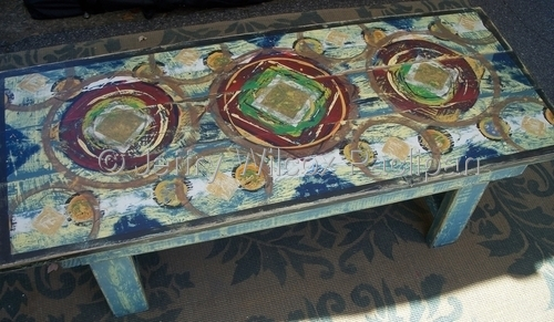 Coffe table bench sold