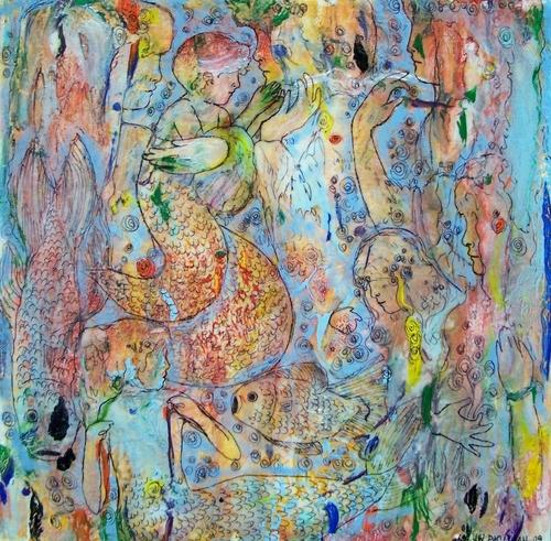 Aqua Garden- Mermaids- series