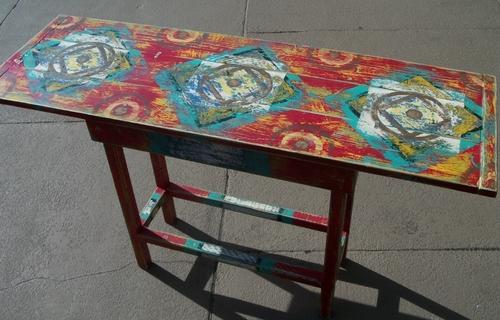 Writing table- Red- Nov 1 09
