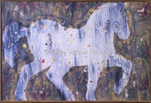 Horse #2 in Blue