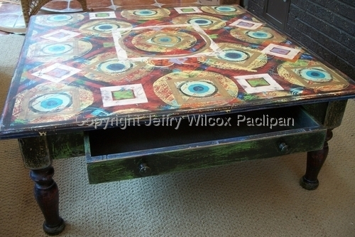 Coffee Table- square side view