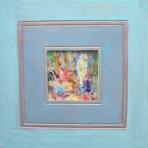 """Tropical Friend"" framed"